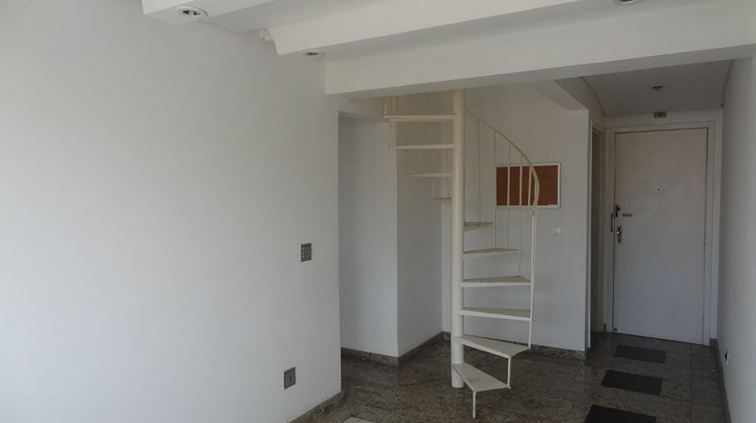 Cobertura duplex de 1 quarto no reboucas